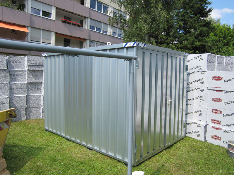 garten container, flexible storage containers for your material | bos best of steel, Design ideen